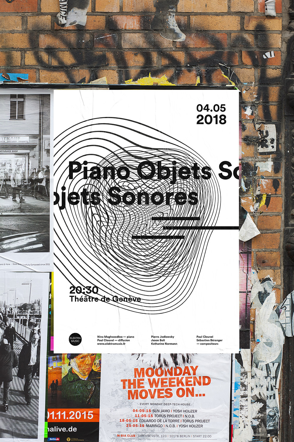 Piano objets sonores proposition affiche 1