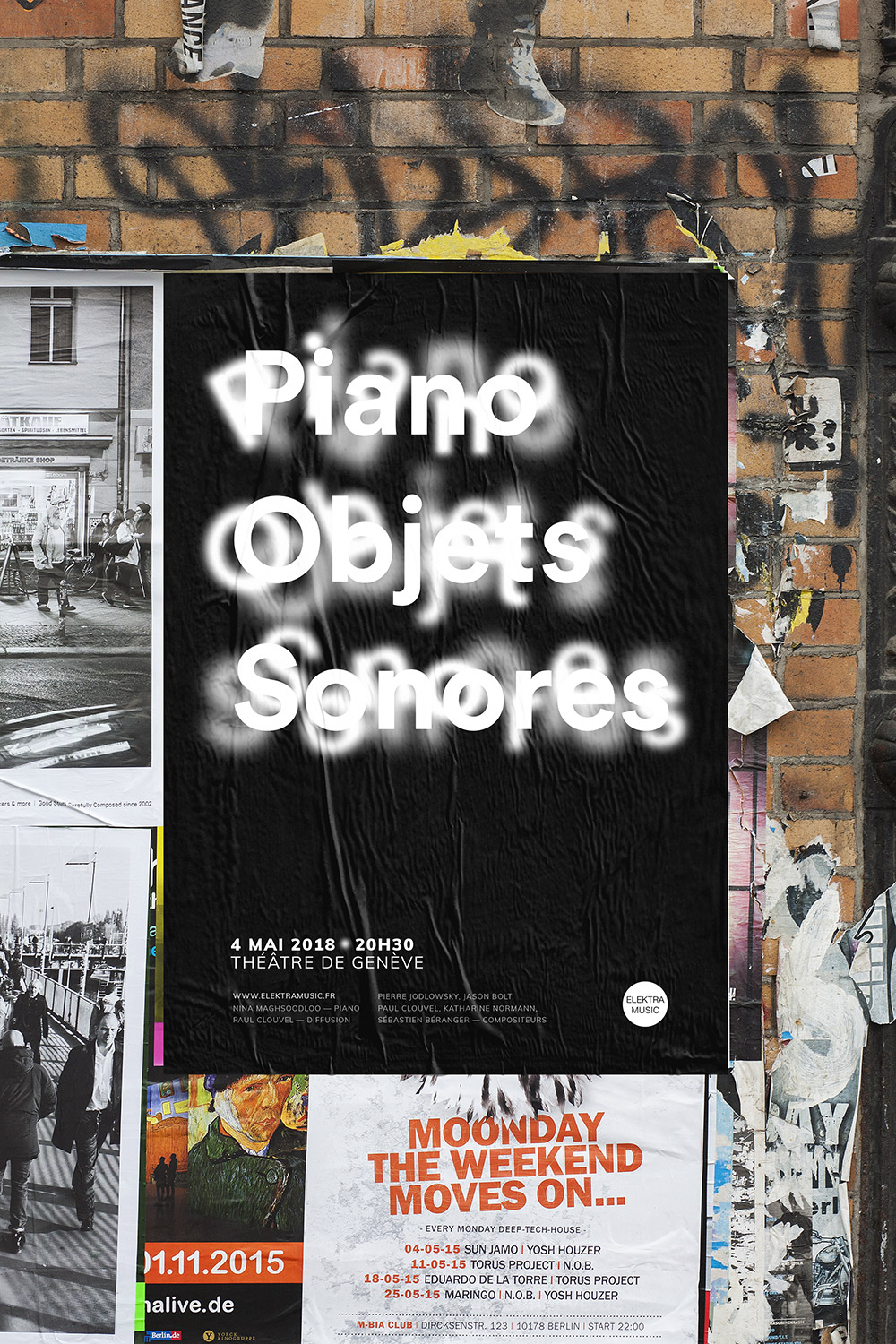 Piano objets sonores proposition affiche 2