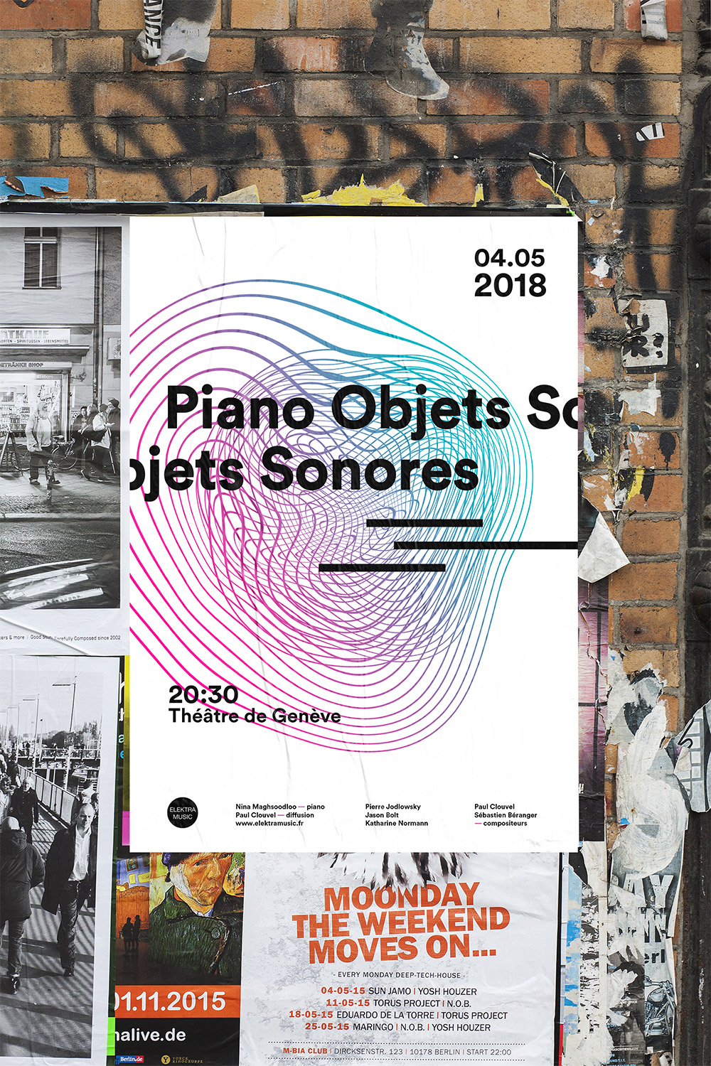 Piano objets sonores proposition affiche 3