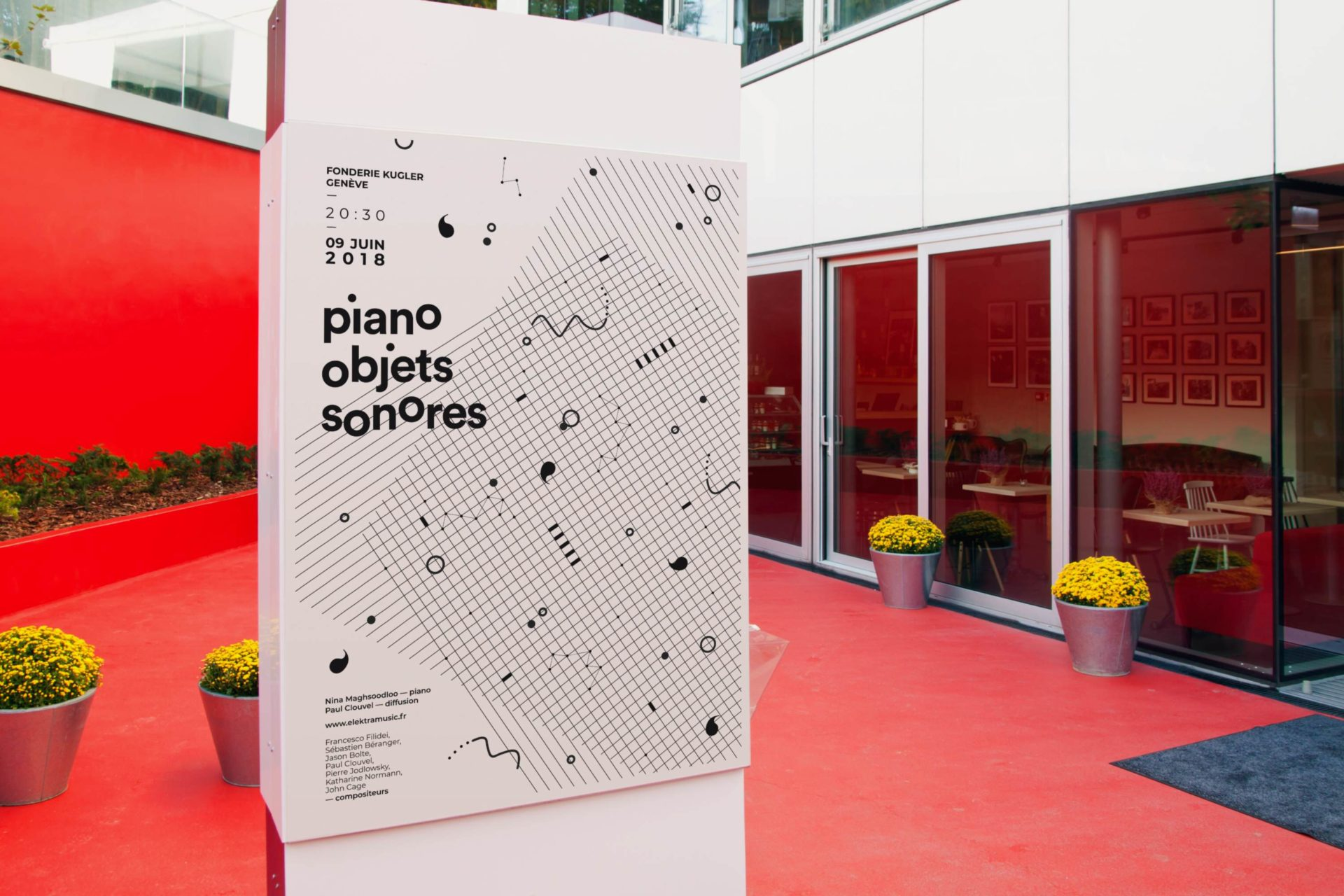 Piano objets sonores affiche 1