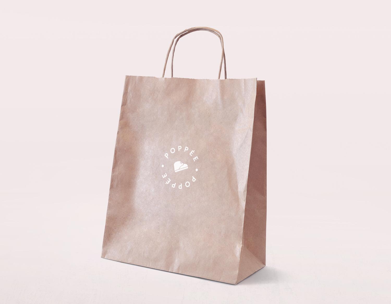 Poppée sac en papier