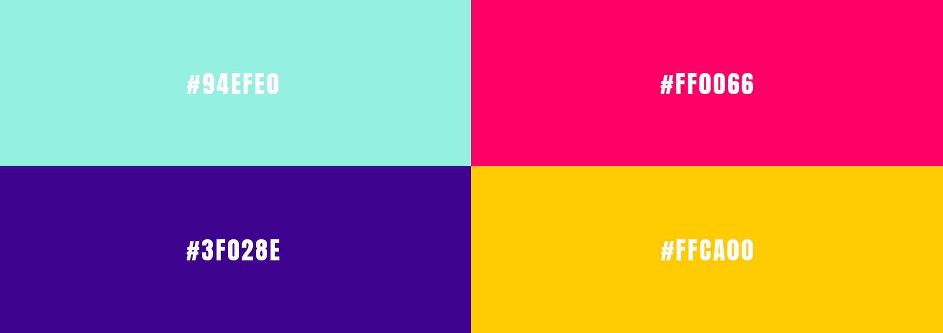 Beau market couleurs