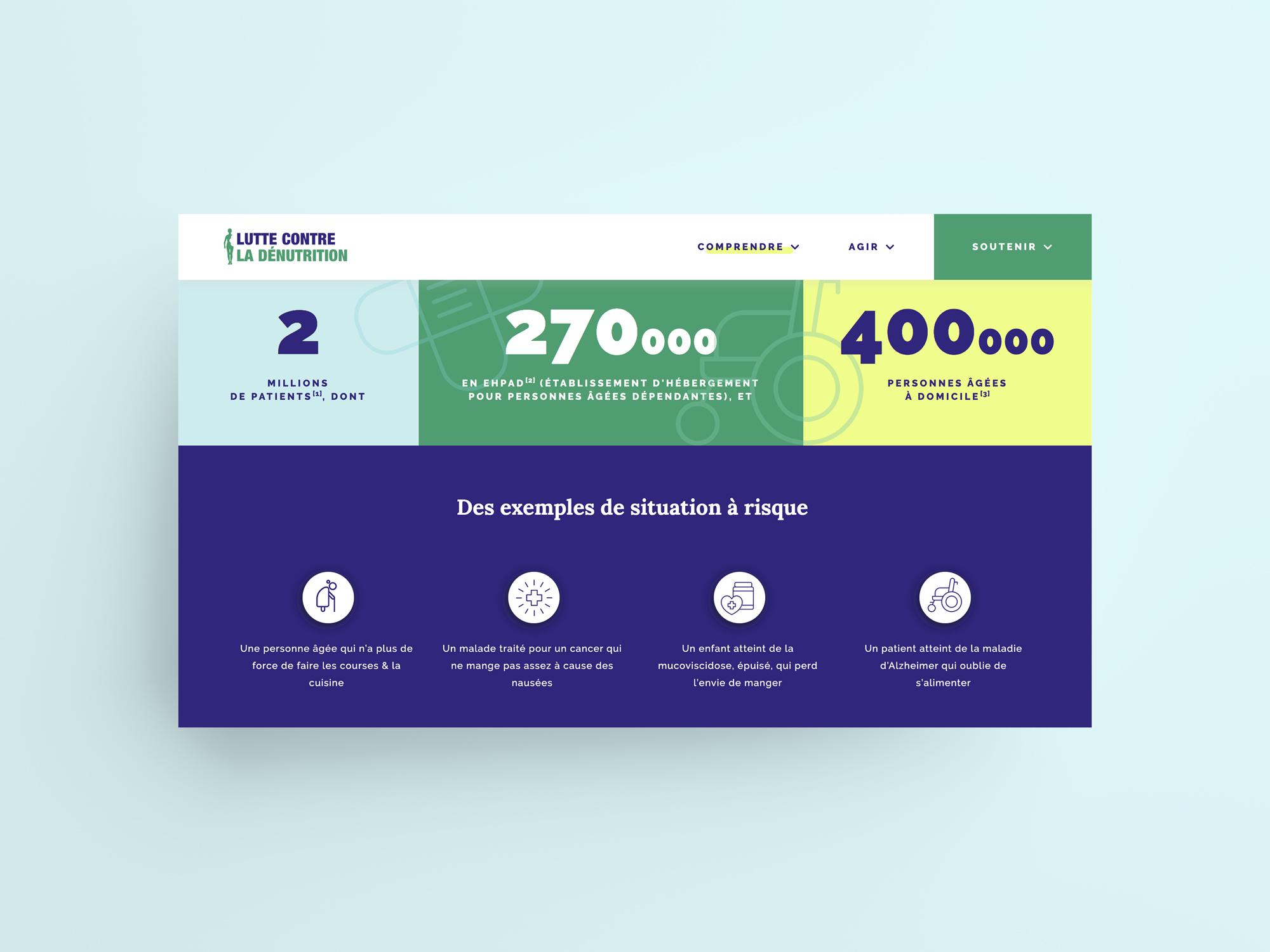 Dénutrition web screen 3 chiffres