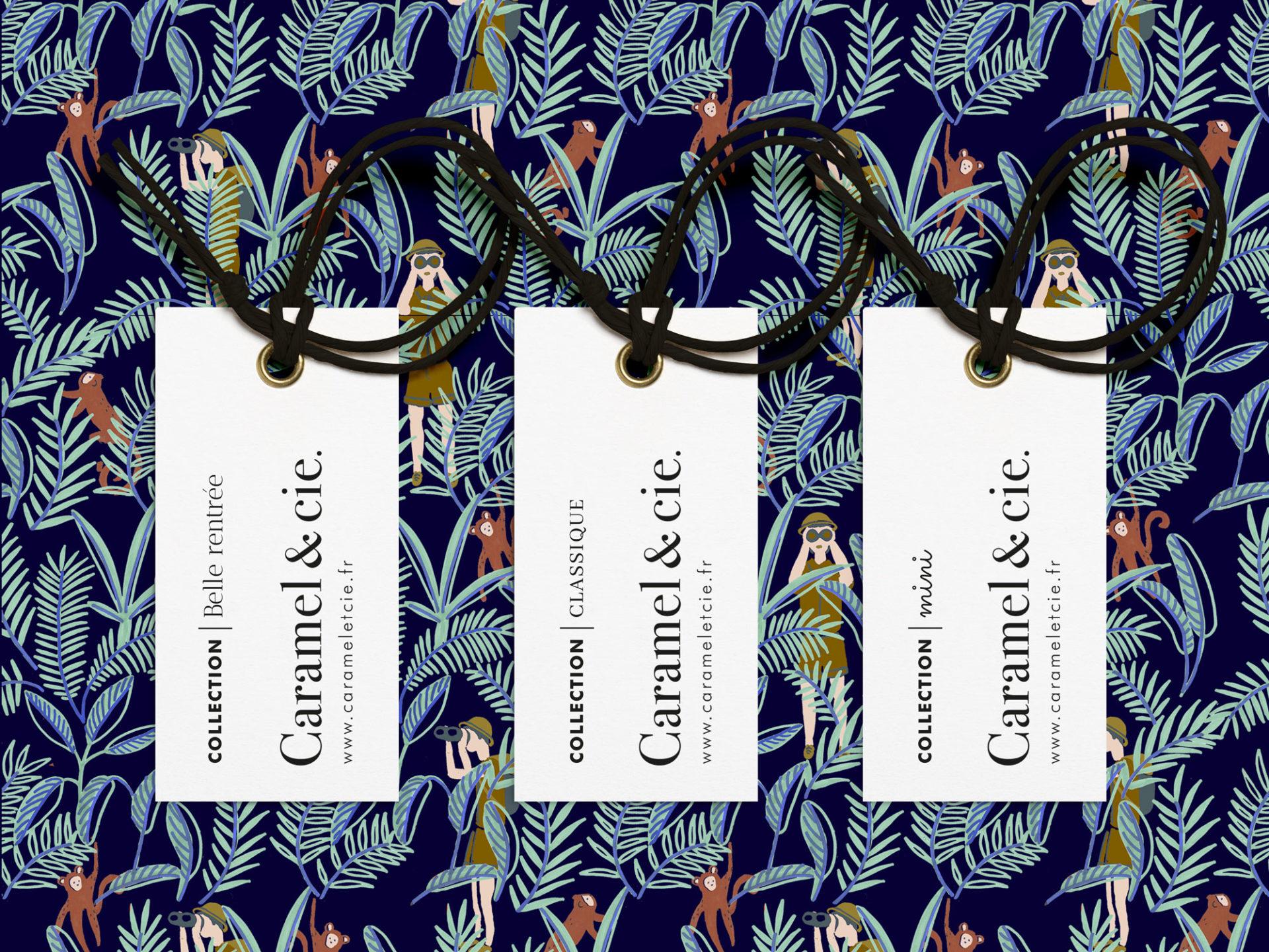 Caramel & cie. étiquettes