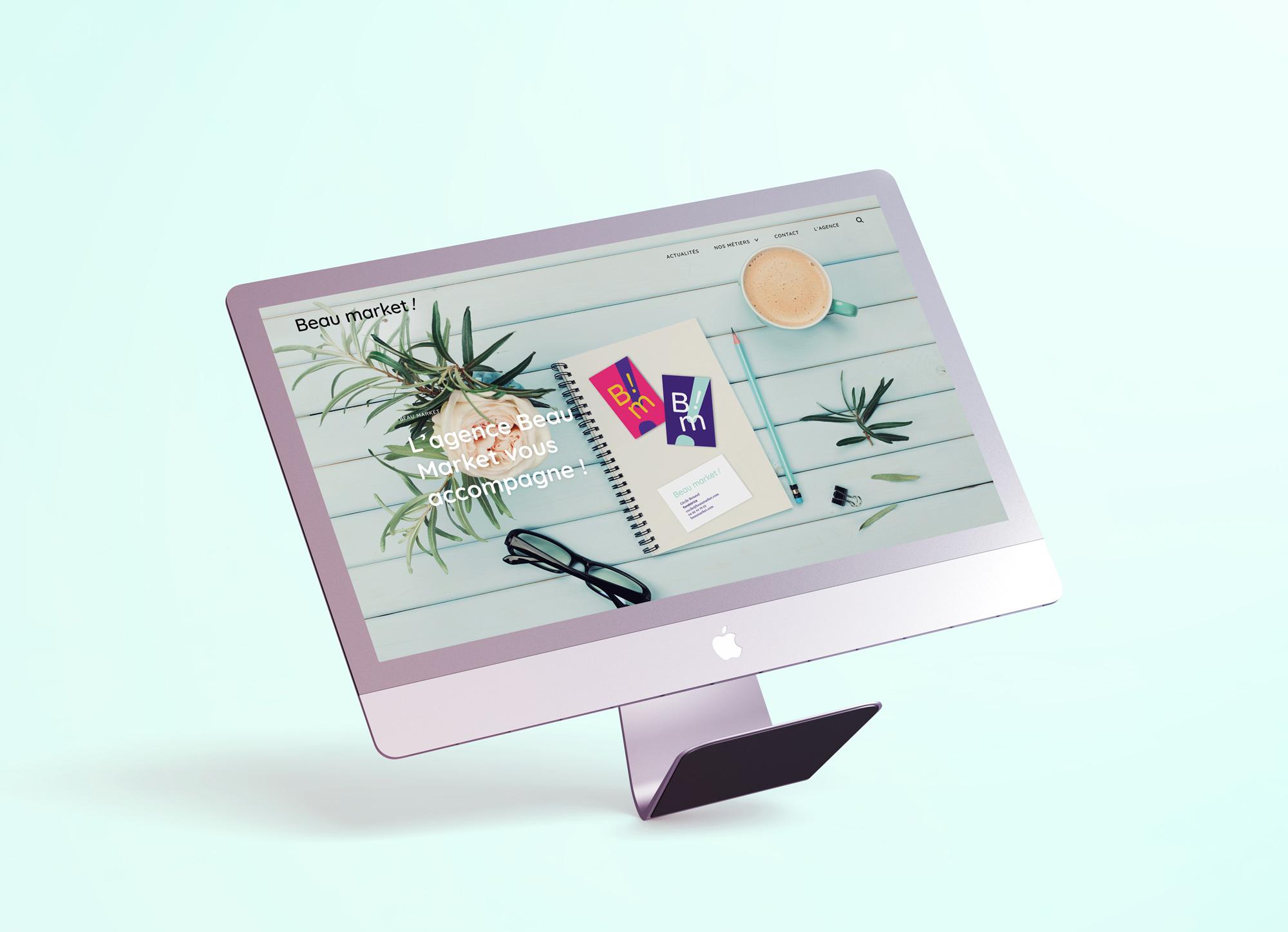 Beau market web home page